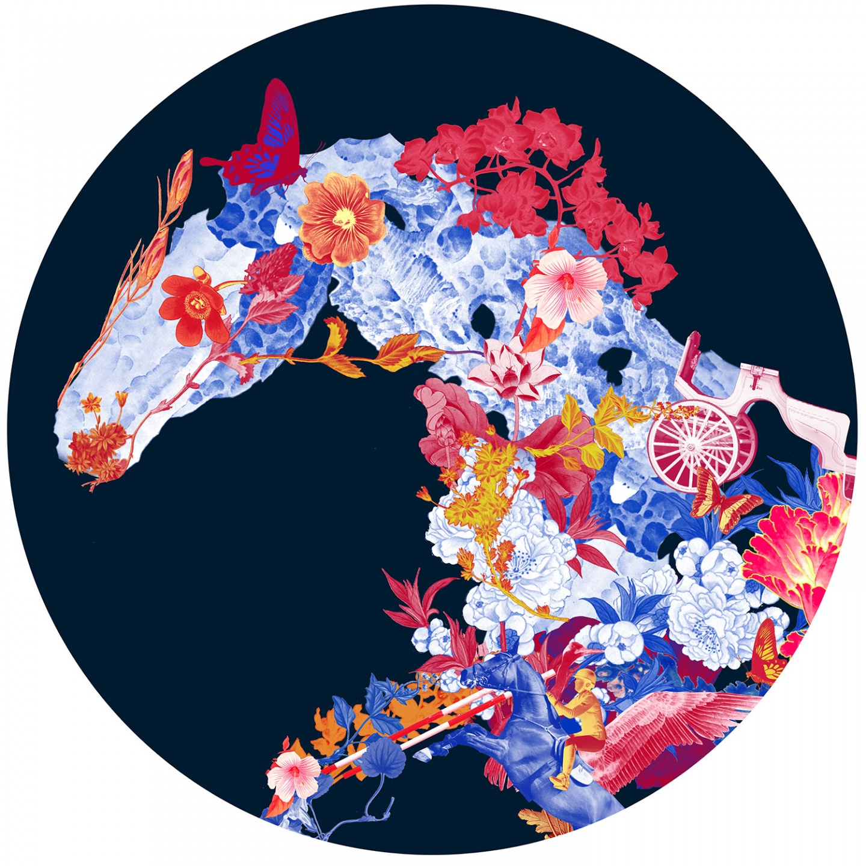 Floral Horse (AP)